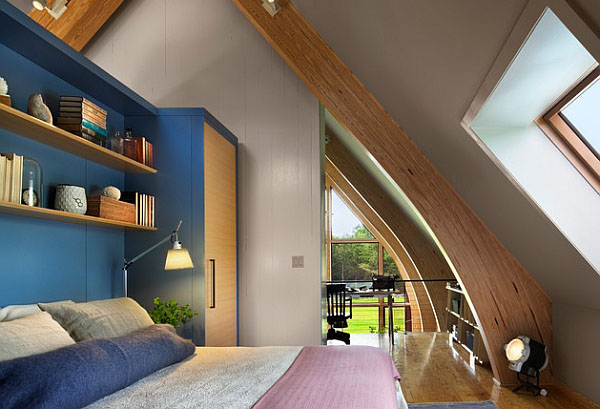 Спальня от BarlisWedlick Architects, Tribeca Studio