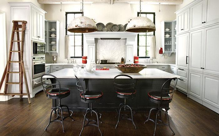 Интерьер кухни в индустриальном стиле от ROMA