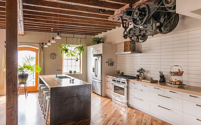 Интерьер кухни от Bright Common Architecture & Design