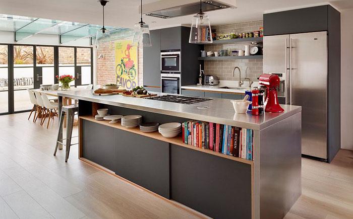 Микс современного и индустриального стилей от Jane Powell – Roundhouse