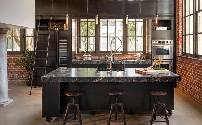 Современная кухня от Muratore Construction + Design
