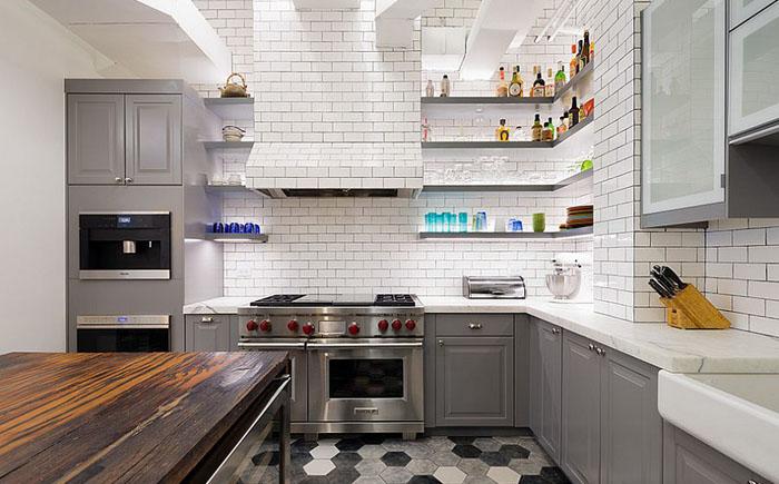 Воздушная кухня в индустриальном стиле от Matiz Architecture & Design