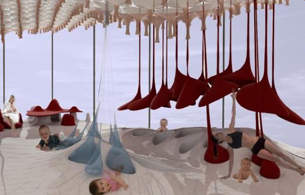 Игровая площадка  MAXI-ooh! для малышей