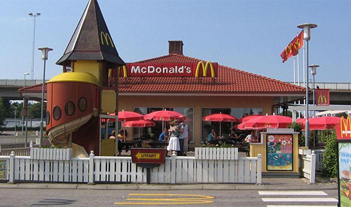 Макдональдс в Швеции