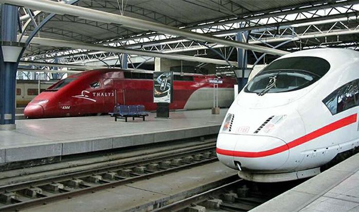 Железная дорога в Бельгии