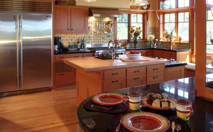 Безупречная кухня для тех, кто как раз любит печь: 10 нужных идей