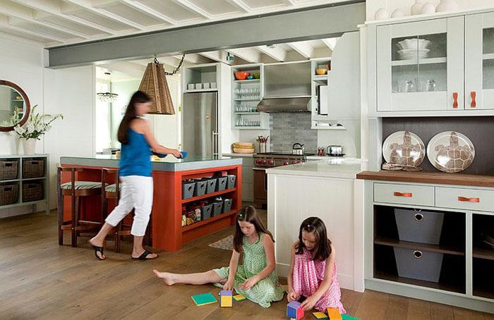 Интерьер кухни от S H Construction