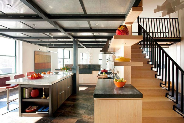Интерьер кухни от Eck MacNeely Architects