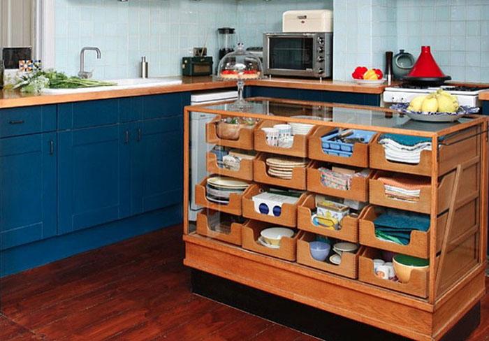 Кухонный остров-комод