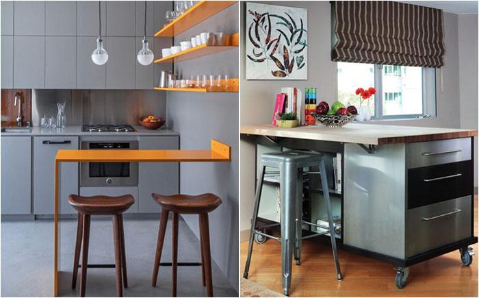 Кухонные острова могут быть разными