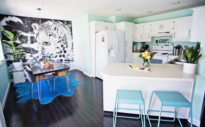 Кухня и столовая от Laura Gummerman