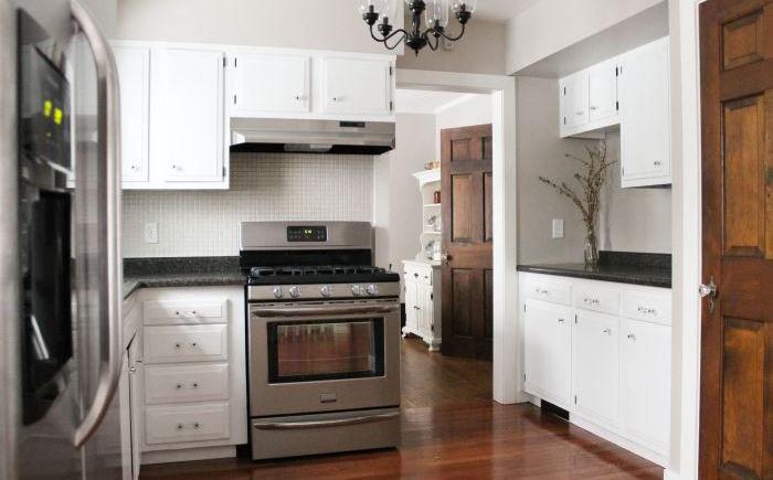 Кухня от студии White House Black Shutters