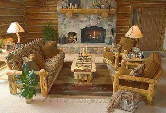 В единстве с природой - стильная домашняя мебель из бруса