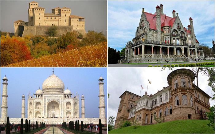 15 удивительных замков, как доказательство бессмертной любви