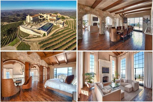 Дом в Малибу, заявленная стоимость  $36 миллионов