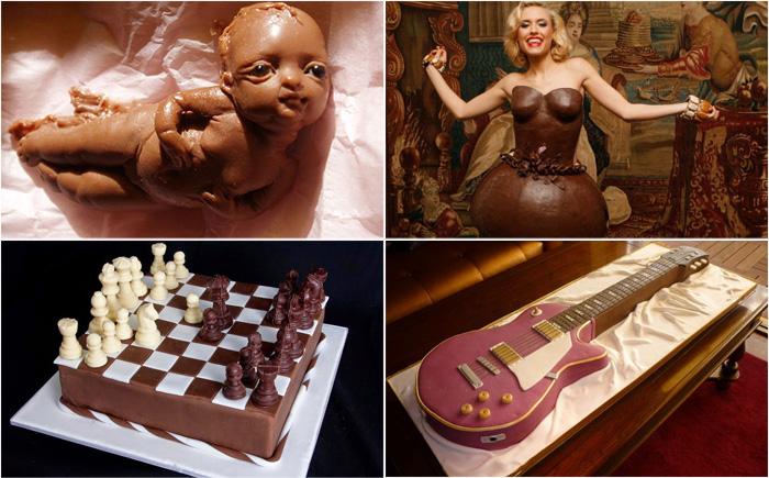 25 самых невероятных шоколадных изделий
