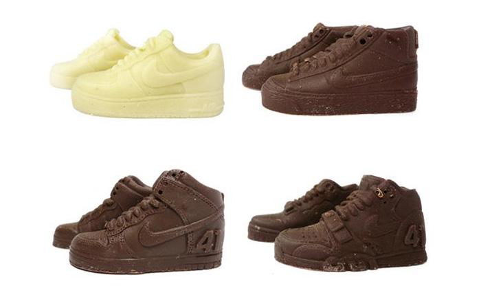 Air Force 1 от фирмы Nike появилась партия вкусного шоколада.