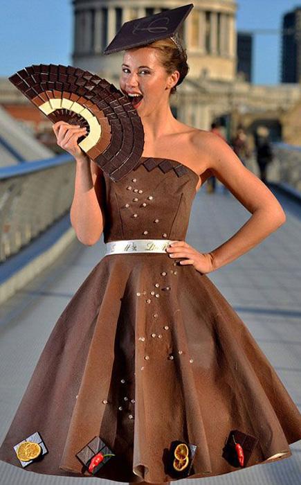 Шоколадный наряд от Лоурен Смит