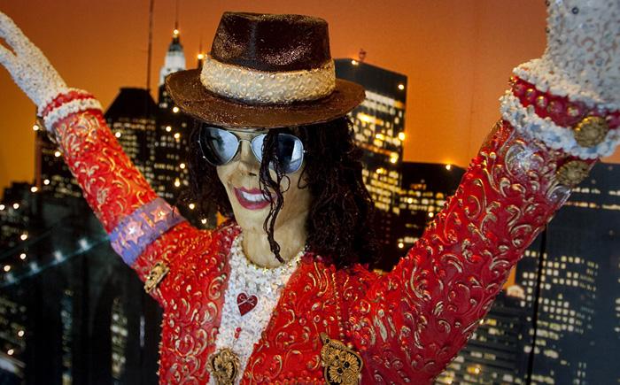 Шоколадная копия Майкла Джексона