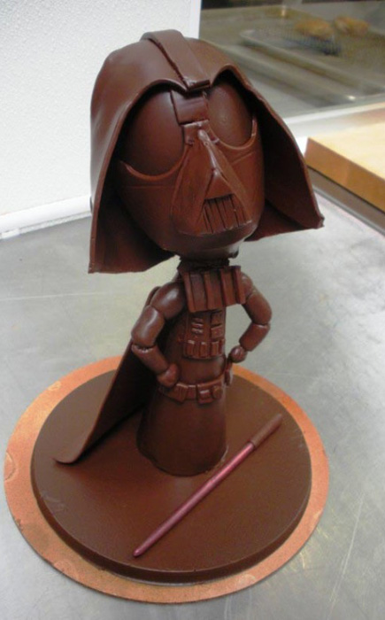 Шоколадный Дарт Вейдер