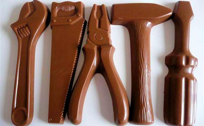 Шоколадный набор инструментов