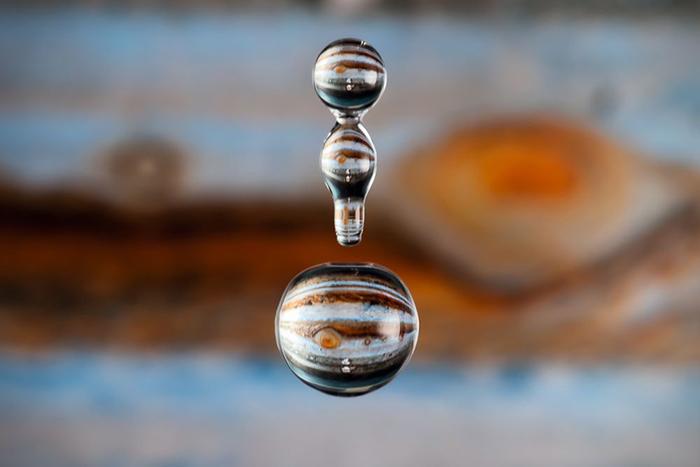 Жидкое искусство: как превратить крохотную каплю воды в шедевр