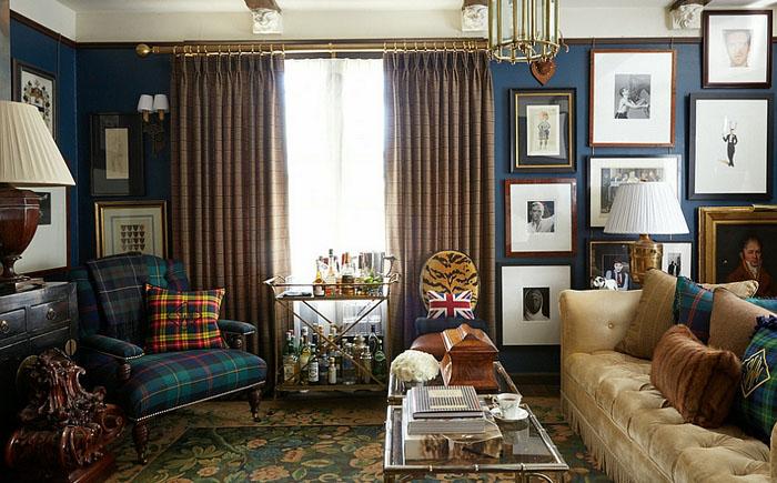 Мужская гостиная от Scot Meacham Wood Design
