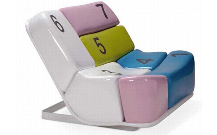 Кресло с клавиатурой