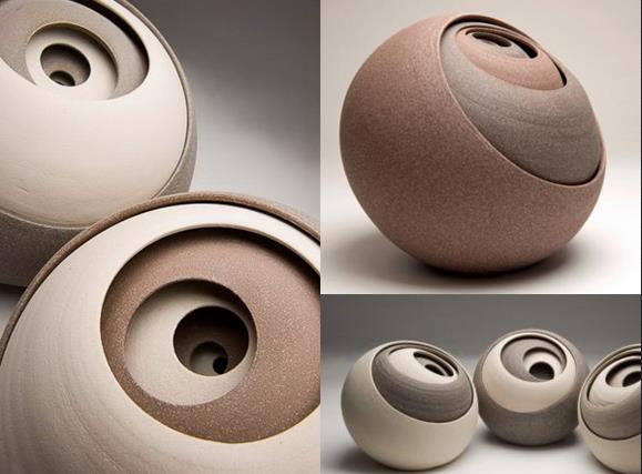 Керамическая скульптура от британского художника Мэтью Чемберса