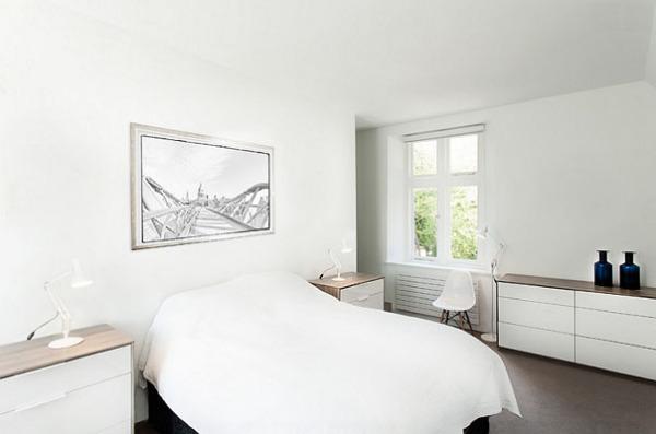 Белая спальня от AR Design Studio