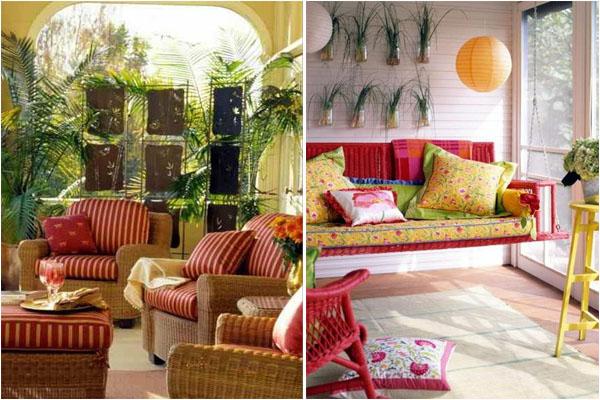 Мебель для современной террасы и веранды