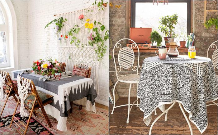 Секреты дизайна: четыре главных принципа оформления столовой в стиле бохо