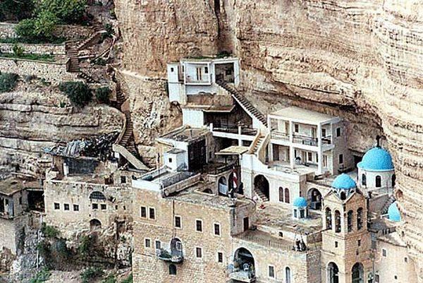 Монастырь святого георгия в израиле