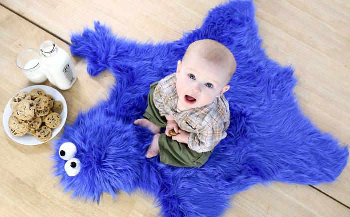Коврик  «Монстр Куки» для малыша своими руками