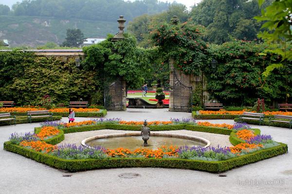 Сады Мирабель, Зальцбург, Австрия