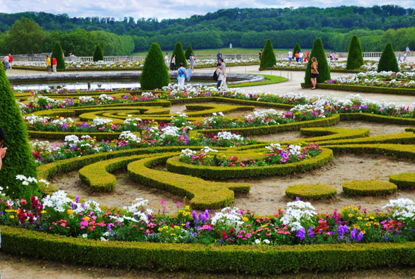 Сады Версальского дворца, Франция