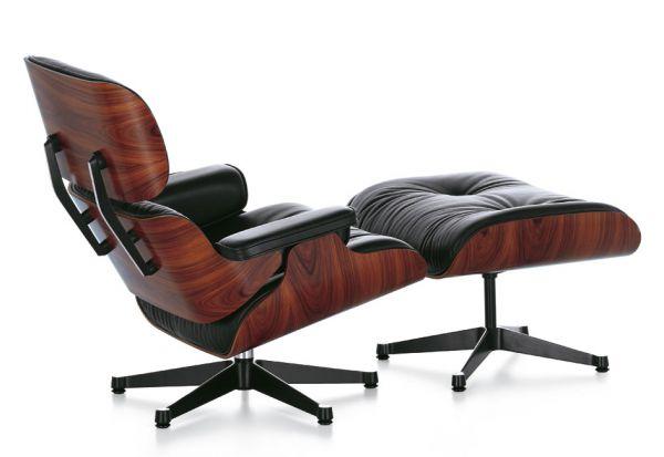 Кресло и оттоманка Eames®