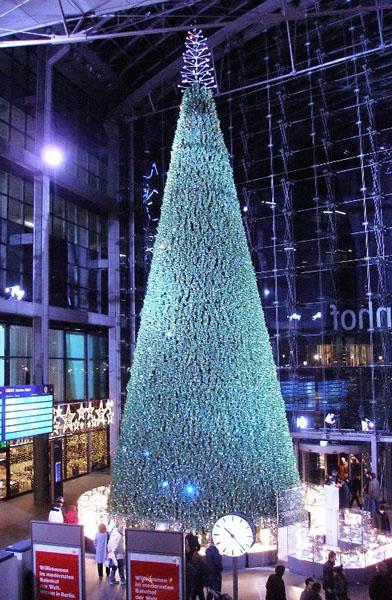 Рождественская елка с вмонтированной светодиодной иллюминацией (Hong Kong Swarovski Crystal)