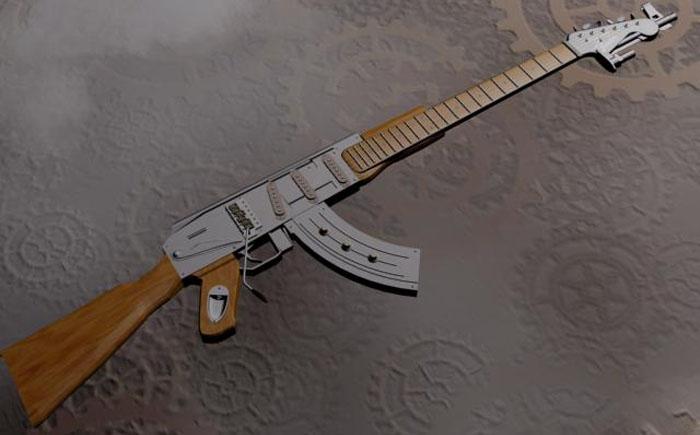 Гитара АК 47
