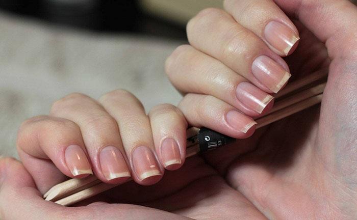 Как сделать правильные квадратные ногти 66