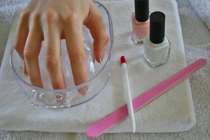 Ванночка для здоровых ногтей