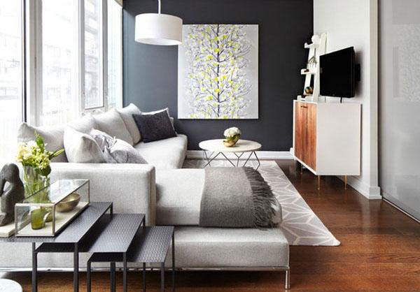Картины помогут зонировать комнату