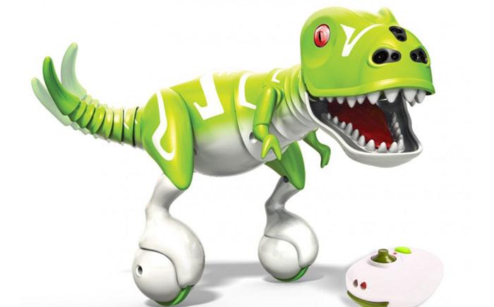 Интерактивный робот-динозавр Zoomer Dino – Boomer