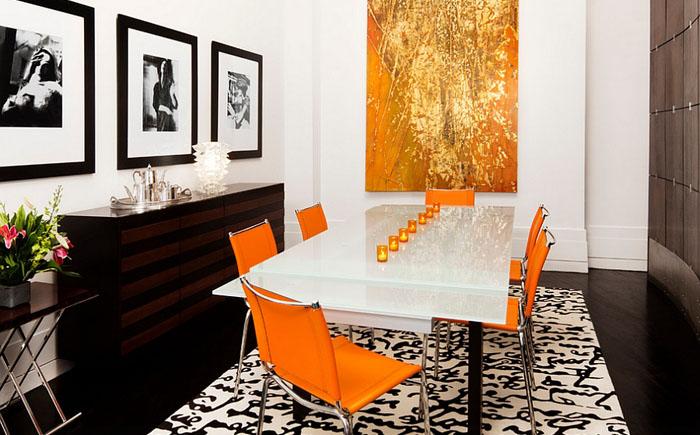 Роскошная столовая от Diego Alejandro Interior Design