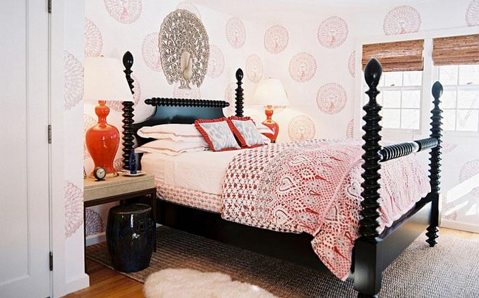 Спальня в эклектичном стиле от Tilton Fenwick