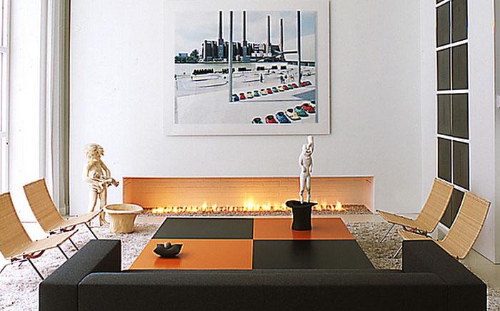 Стильная гостиная от  Shinberg Levinas