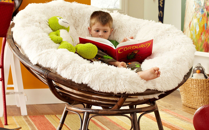 Кресло Papasan (50 фото качалка из ротанга и подушка для нее) 15