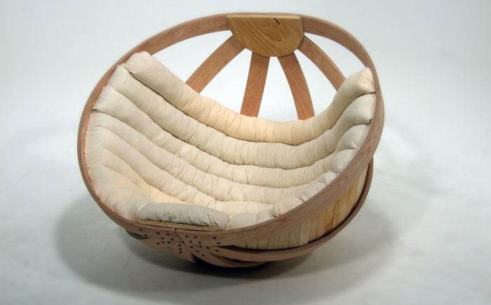 Кресло Papasan (50 фото качалка из ротанга и подушка для нее) 37