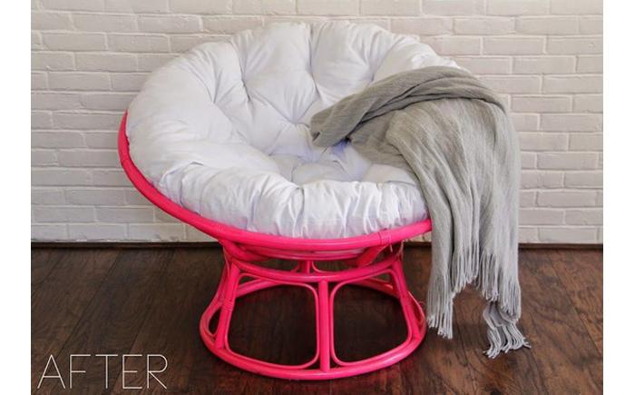 Кресло Papasan (50 фото качалка из ротанга и подушка для нее)