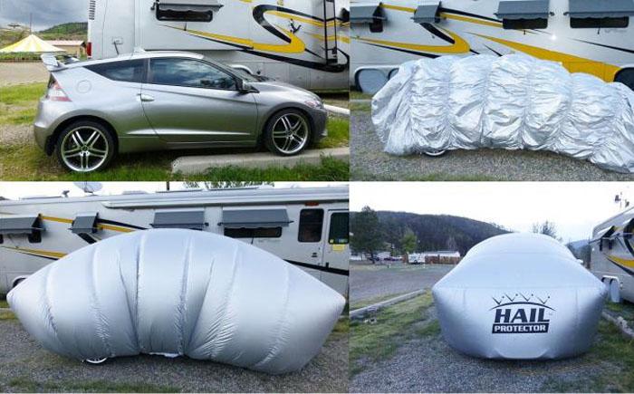 Надувной гараж для автомобиля